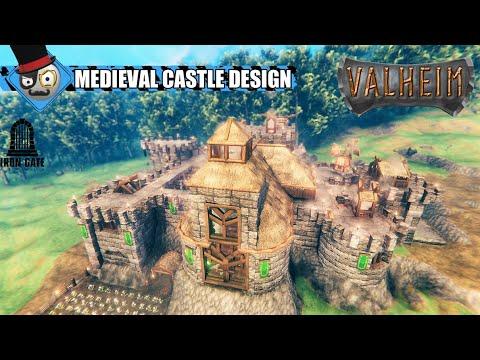 Download Valheim - Castle Building Guide - Medieval Castle Design (Time Lapse)