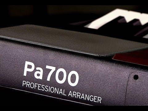 Korg Pa700 Arranger Keyboard - Demo with Frank Tedesco