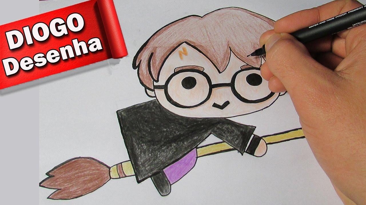 desenhando harry potter kawaii desenho fofinho 1 youtube desenhando harry potter kawaii desenho fofinho 1