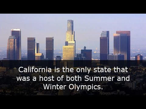 22 AMAZING FACTS ABOUT CALIFORNIA