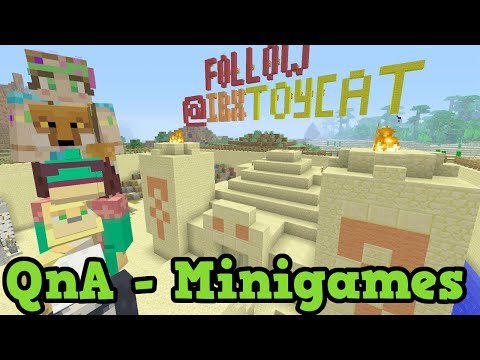 Minecraft Xbox 360 / PS3 Mini Games QnA - Hide & Seek, Block Breaking