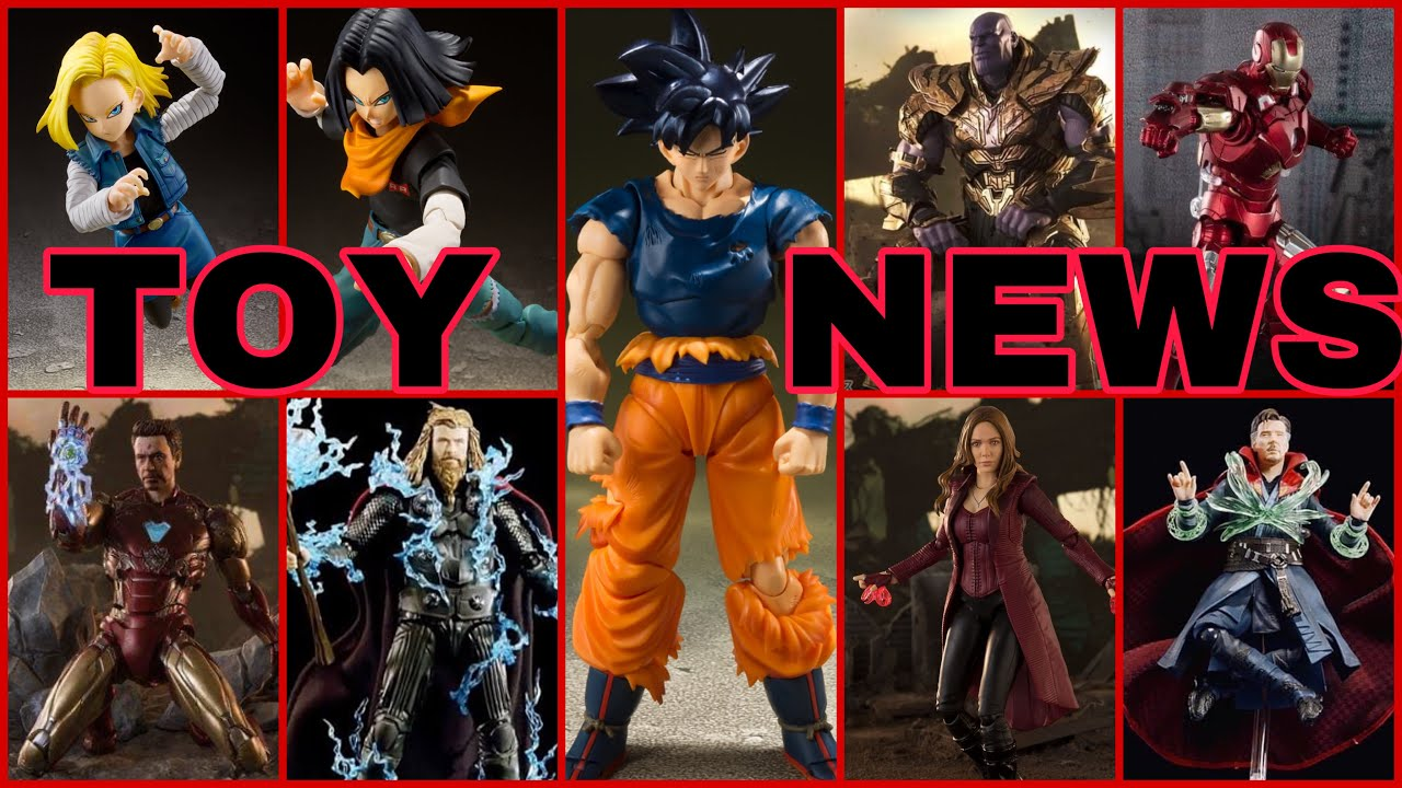 TOY NEWS: SH Figuarts Upcoming Avengers Infinity War, Endgame Final Battle and Dragon Ball Z