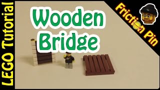 Lego Tutorial - How To Make A Wooden Bridge Or Walkway