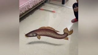 Chinese sand artist makes mind-bending 3D perspective art