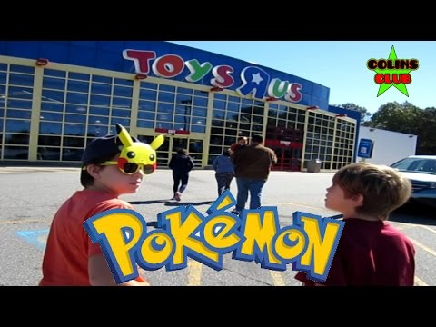 Toys R Us  - Pokemon Card & Pack Hunting (part 6) - ColinsClub