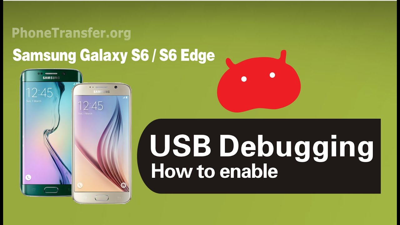s6 edge how to enable usb debugging mode on samsung galaxy s6 in developer options youtube. Black Bedroom Furniture Sets. Home Design Ideas