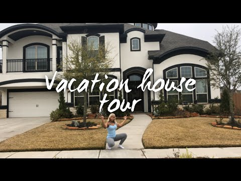 LIT A** Vacation Mansion Tour!! (Houston) | Noni Kae