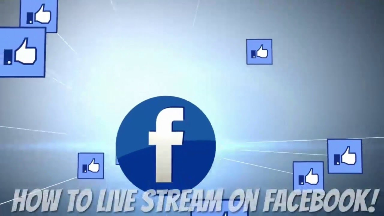 How to #livestream to a company Facebook page with RTMP