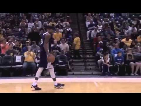 Indiana Pacers Dunk Contest With Paul George Gerald Green and Miles Plumlee FanJam