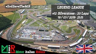 MotoGP 18   Legend League   Round #12   Silverstone   Live Streaming 1080p