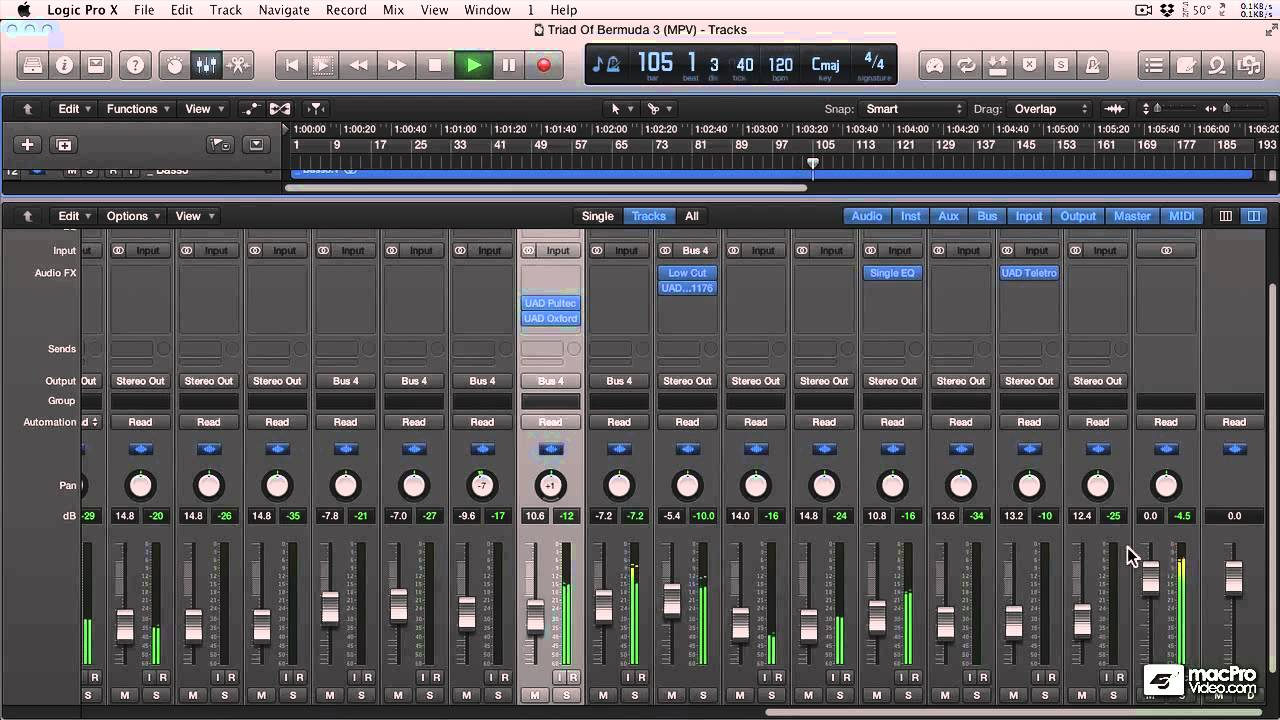 logic pro x 405 mastering edm tracks 1 mastering starts in the mix youtube. Black Bedroom Furniture Sets. Home Design Ideas