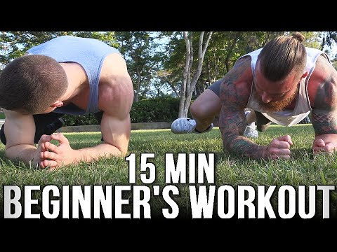 15 Minute Anywhere Beginner Workout (Body Weight Only)