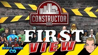 Constructor First view of the game: PS4