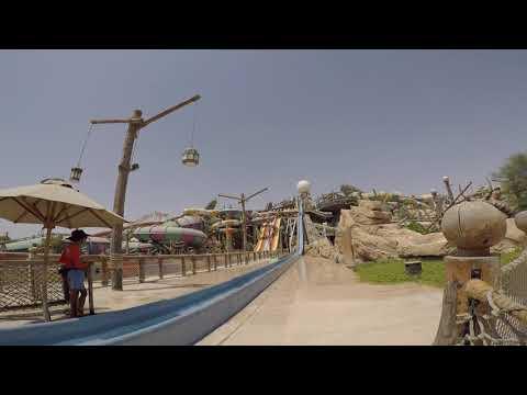 Yas Waterworld abu dhabi slides experience