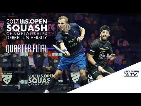 Squash: Men's QF Roundup Pt. 1 - U.S. Open 2017