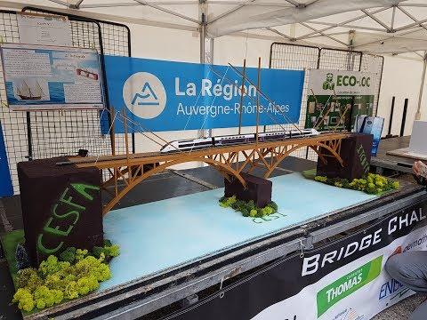 Bridge Challenge (ENISE) 2018 : Équipe 1 du CESI Nanterre et Montpellier - Destruction du pont