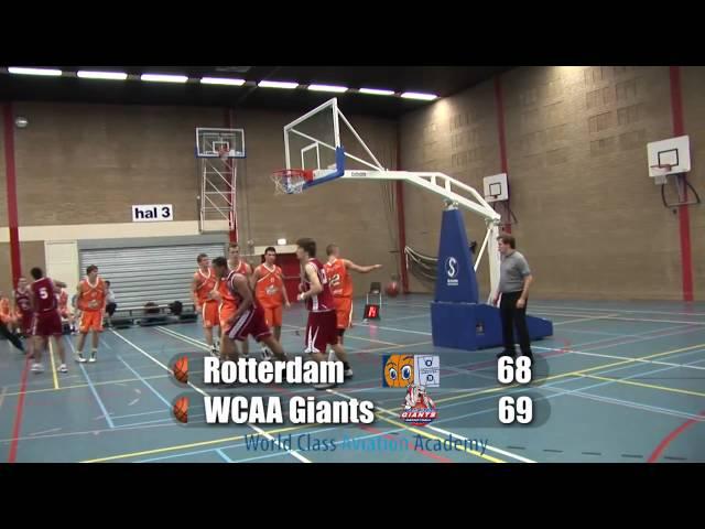 Rotterdam U20 vs Giants U20