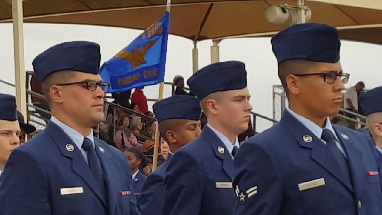 Air Force Graduation at Lackland Air Force Base in 4k