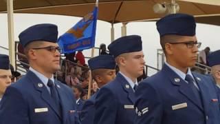 Air Force Graduation at Lackland Air Force Base in 4k