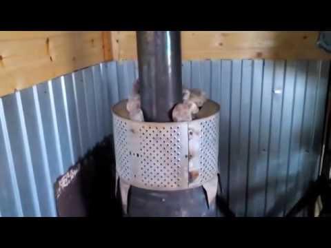 Простая печь для бани