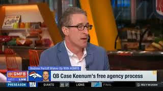 8/20/18 Case Keenum's perspective on Minneapolis Miracle | Good Morning Football