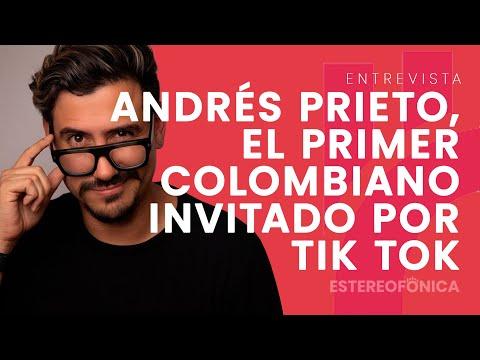 Andrés Prieto, el primer colombiano en Tik Tok haciendo negocios