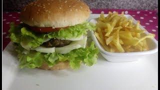 Hamburger Tarifi, Hamburger Nasıl Yapılır, Hamburger Yapımı