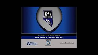 Work for Warriors NV - How to Write a Federal Resume