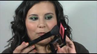 Lime Green Eye Makeup, Glowing Skin and Kissable Lips Makeup Tutorial Thumbnail