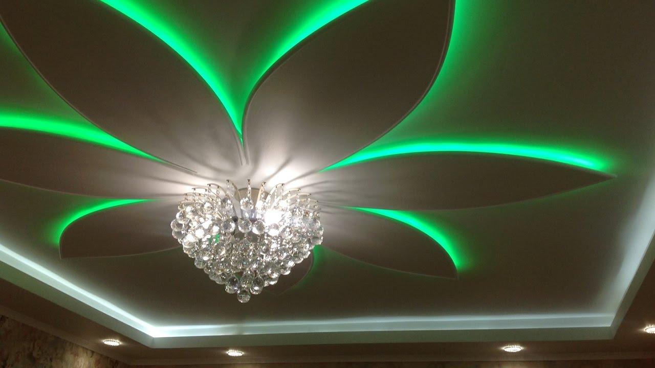 дизайн потолка из гипсокартона 5