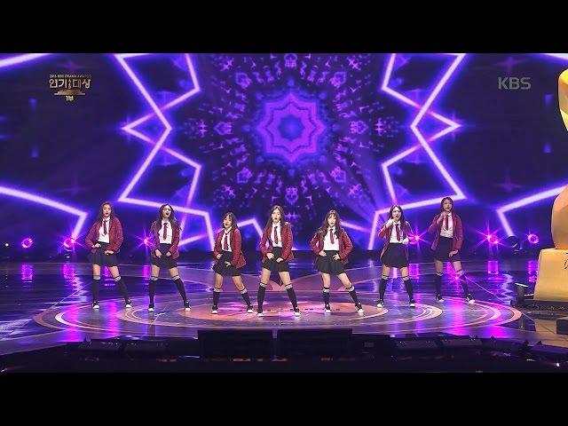 2016 KBS 연기대상 1부 - [KBS 연기대상] I.O.I 축하공연 Whatta Man + Pick Me.20161231