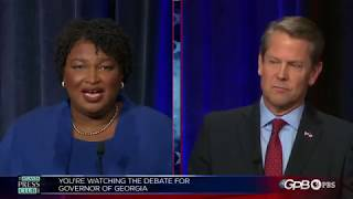 Georgia governor debate: Stacey Abrams vs. Brian Kemp - Full Video