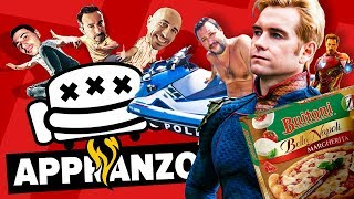 Appranzo in Salottino - S03E05 - Pizza Surgelata Buitoni, Scuse al LIDL, The Boys e Avengers: Endgam