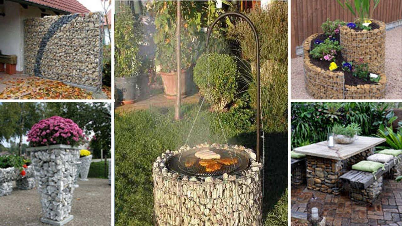 23 attractive gabion garden and home ideas