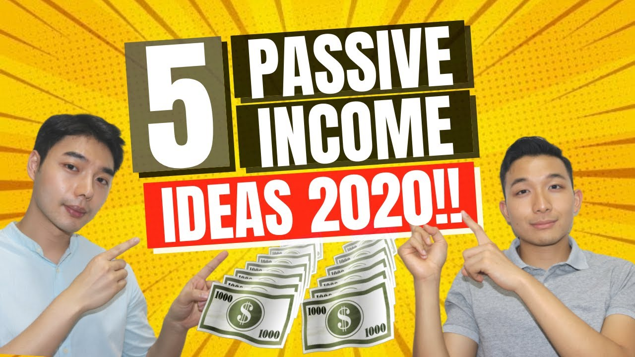 5 LEGIT WAYS To Make Passive Income From Home During Quarantine (2020)