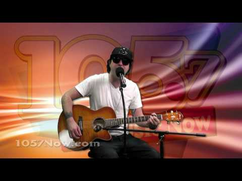 Kevin Rudolf - I Made It (live-acoustic) at 105.7 NOW