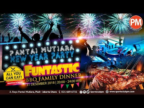 Pantai Mutiara New Year Party 2019