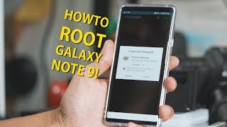 How to Root Galaxy Note 9! [EASIEST METHOD]