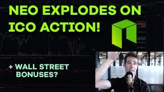 NEO Goes Vertical! Protocol Plays, Litecoin Accumulation, Wall Street Bonuses, CryptoArt - Ep 125