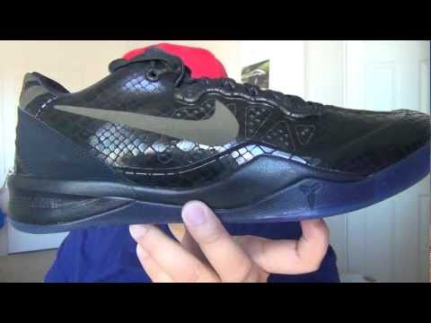 f04b9360c301 ... Red Suede Unboxing at Exclucity. Nike Zoom Kobe 8 EXT YOTS Black