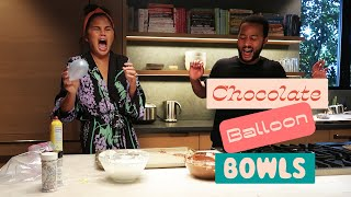 Chocolate Balloon Bowls vs. Chrissy Teigen