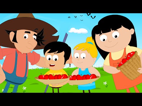 thanks-giving-the-year-has-turned-its-circle-|-videos-for-children-|-rhymes-for-kids-by-kids-tv