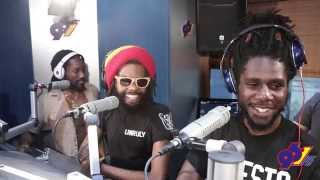 #TurnItUpFridays With Chronixx, Kabaka Pyramid & Dre Island Pt.1