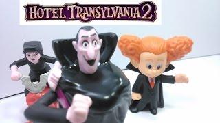 Hotel Transylvania 2 Toys Complete Movie Characters Dracula, Mavis,Dennis, Frank, Murray and More