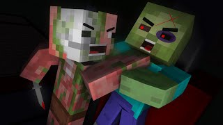 Monster School: Zombie VS Pigman - Minecraft Animation