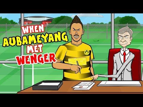 🤝When AUBAMEYANG met WENGER!🤝 (Transfer Update Parody)