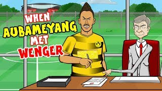 🤝When AUBAMEYANG met WENGER!🤝 (Transfer Update Parody)