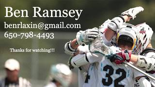 Ben Ramsey (Notre Dame '25) Summer/Spring Lacrosse Highlights 2019