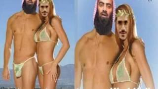 Zakir naik & tuseef-ur-rehman  in film munni with allah ka azab