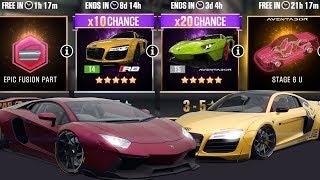 CSR Racing 2 |  TrIcK tO PuLl aVeNtaDoR LiBeRtYwAlK & AuDi R8 - 750 Silver & 100 Gold Keys Pulls!